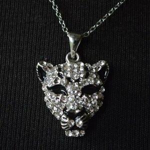 Jewelry - Jaguar Pendant Necklace 18ktgp